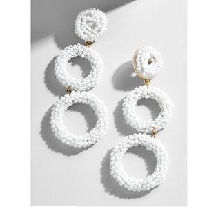 Baublebar    Capella Drop Earrings    White